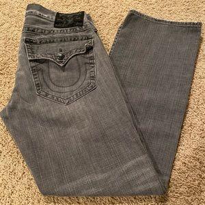 True Religion Men's Jeans Straight Fit